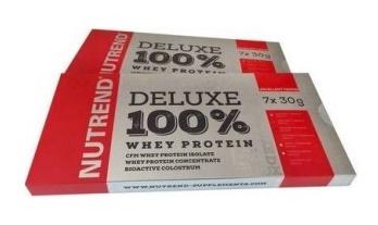 Протеин DELUXE 100% WHEY 30 гр, кутия от 7 бр, вкусов микс