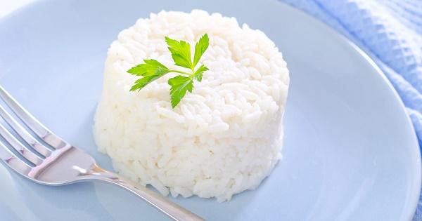 Ориз при отслабване