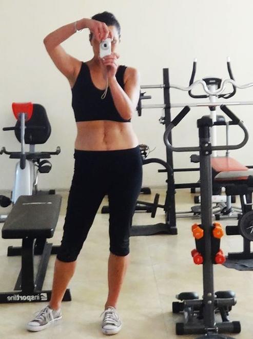 На първата тренировка във фитнеса