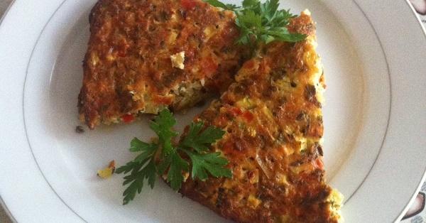 Фритата със зеленчуци - подходяща за хранителен режим с цел отслабване