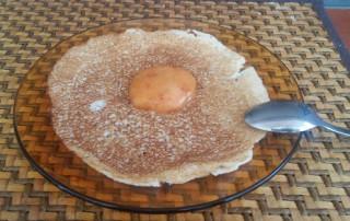 Ароматни кокосови палачинки