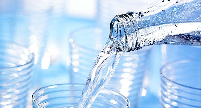 отслабване с вода